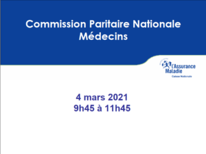 Commission paritaire nationale 4 mars 2021